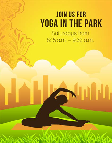 poster design yoga designing a yoga poster part iii graphicstock blog