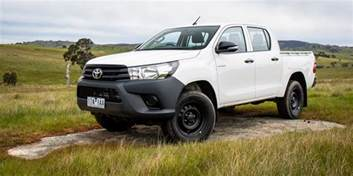 Toyota Hilux 4x4 2016 Toyota Hilux Workmate 4x4 Review Caradvice