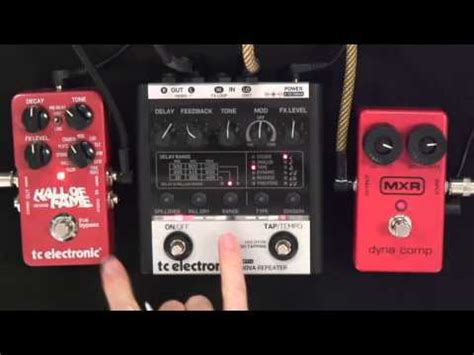 tutorial guitar effects guitar effects survival guide 7 clean comp lead