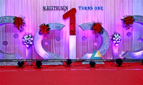 birthday party decoration harsha gardens padapai chennai 171 sigaram wedding decorators