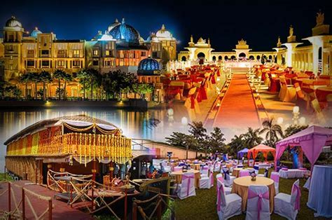 5 Best Destination Wedding Locations in India