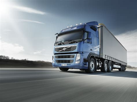 new truck volvo new volvo fm methanediesel launched autoevolution