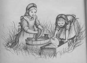 children modern pioneer mom