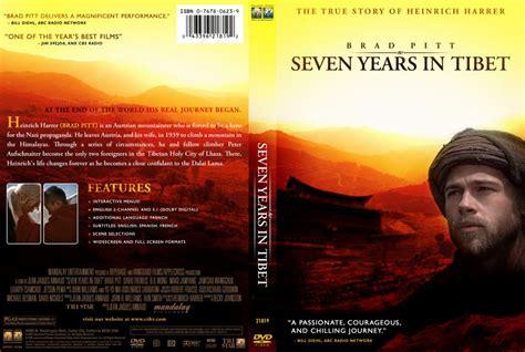 7 years in years seven years in tibet dvd custom covers 2409sevenyearsintibetenglish euroboy