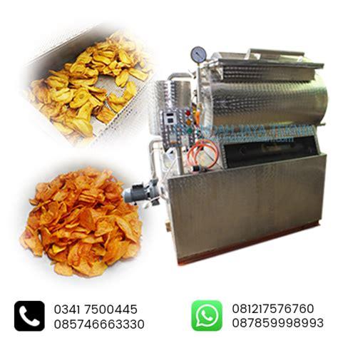 mesin vacuum frying indah mesin