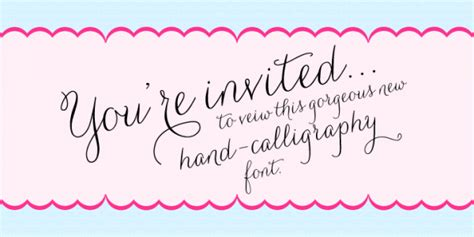 Free Wedding Handwriting Font by Handwriting Fonts Writing