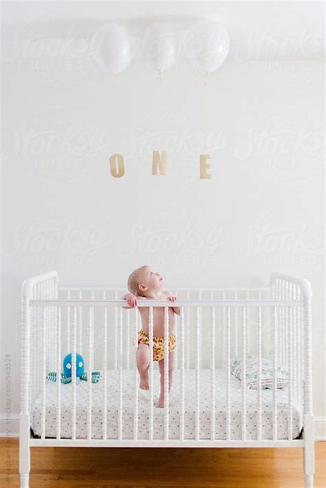 baby standing in crib 25 best ideas about birthday photos on