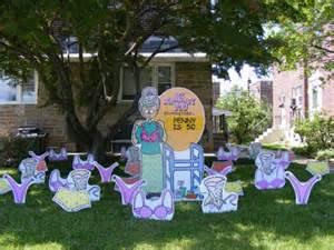 birthday yard flocking decorations ta fl call