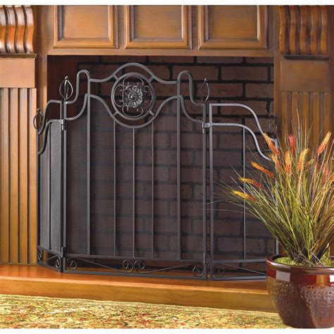 Fireplace Gate by Metal Fireplace Safety Cover Panel Screen Guard Mesh