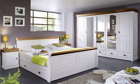 Schlafzimmer Set Massiv by Schlafzimmer Set 4teilig Kiefer Massiv 2farbig Wei 223