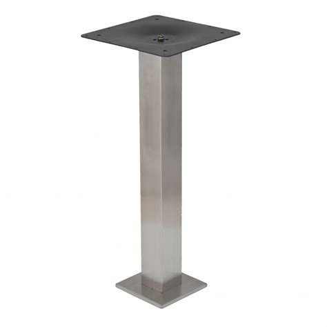 Square Bolt square eclipse bolt stainless steel table base