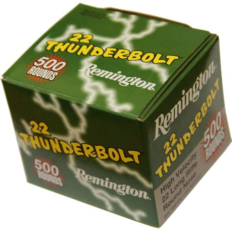 remington thunderbolt 22 ammo ammomart 22 long rifle remington thunderbolt 40gr lrn