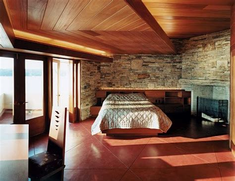 frank lloyd wright bedroom rock bedroom new york and a house on pinterest