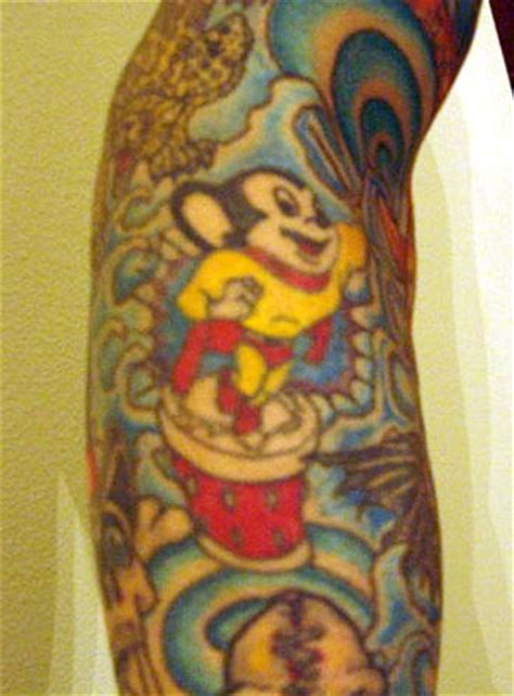 mighty mouse tattoo mighty mouse