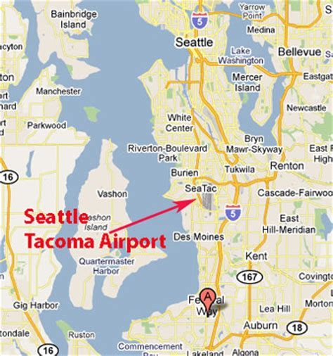 seattle map federal way sighting reports previous to 1990