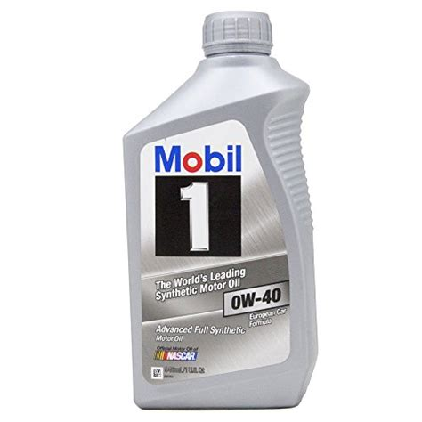 So Mobil Motor By Iin Clean mobil 1 98kg00 0w 40 synthetic motor 1 quart