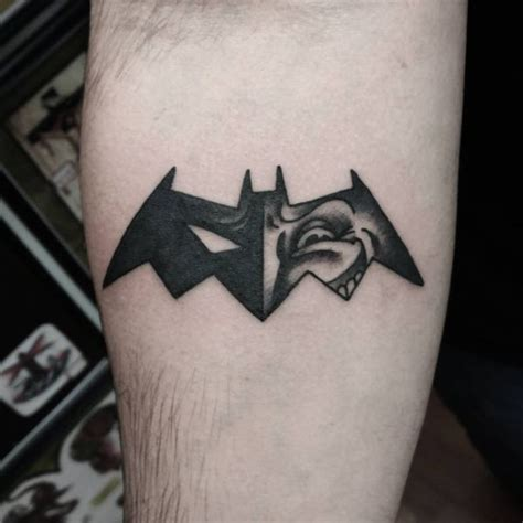 tattoo batman old school 33 cool batman tattoos ideas for male and female 2018