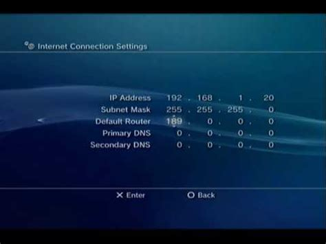 Ps3 Ip Address Finder Setting Ps3 Ip Address