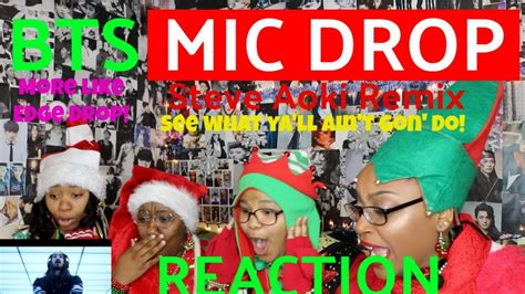 download mp3 bts mic drop download bts mic drop steve aoki remix mv reaction 1505
