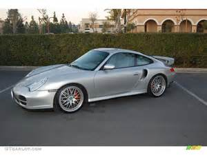 2001 Porsche Turbo 2001 Arctic Silver Metallic Porsche 911 Turbo Coupe Gt640