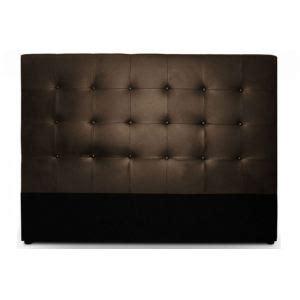 tete de lit menzzo tete de lit en cuir marron comparer 96 offres