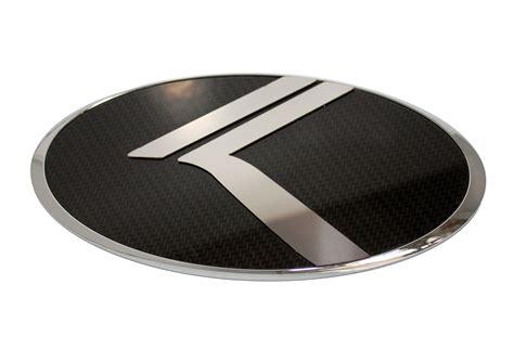 Kia K3 Emblem 2016 Sorento Loden Quot Vintage K Quot Carbon Stainless Badge