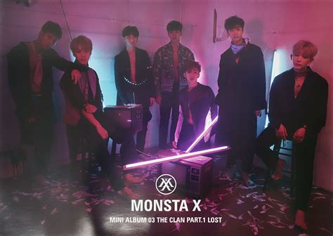 Monsta X The Clan 2 5 Part 2 monsta x the clan 2 5 part 1 lost lost ver official