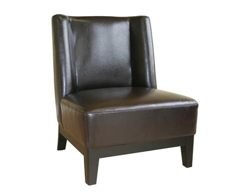 Leather Armchair Design Ideas Brown Leather Accent Chair Designs Decofurnish