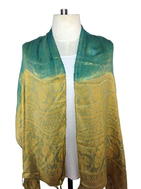 turquoise silk scarf order direct from thailand