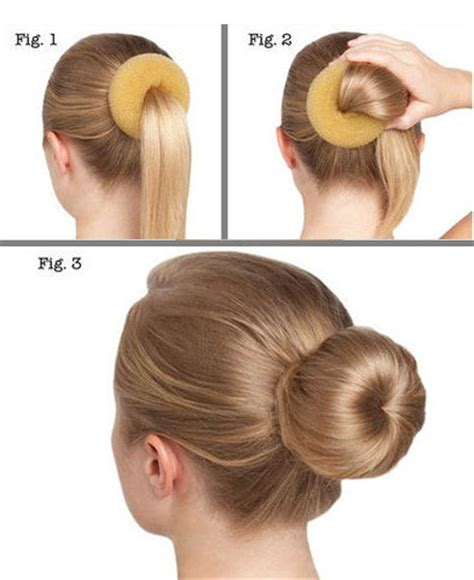 how to use a bun builder image gallery hair bun maker