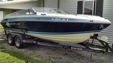 1988 four winns liberator boat four winns liberator 201 1988 for sale for 100 boats