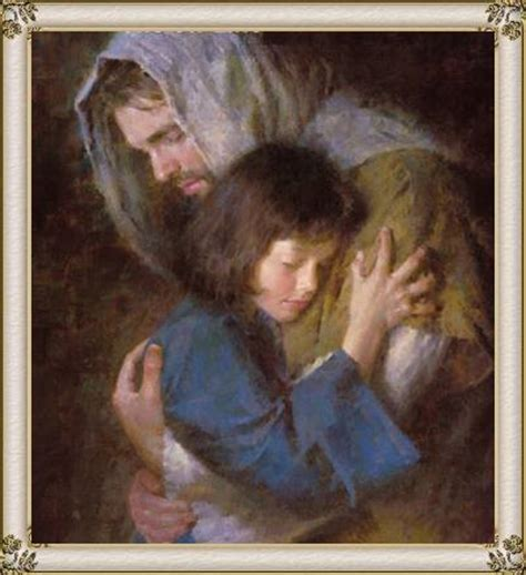 imagenes de jesus con una niña jesus abrazando a ni 209 a photo by margara210 photobucket