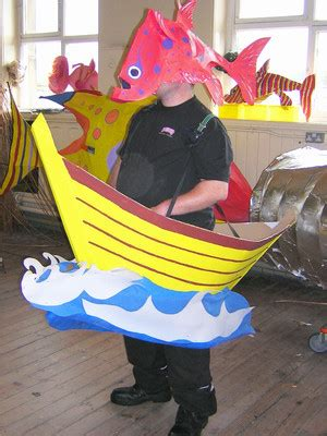 cardboard boat costume paper mask patterns patterns gallery