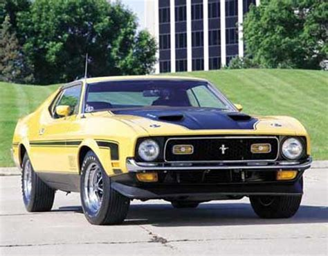 1971 ford mustang mach 1 specs, collectibility