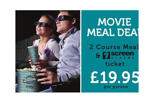 movie meal deals mitcham