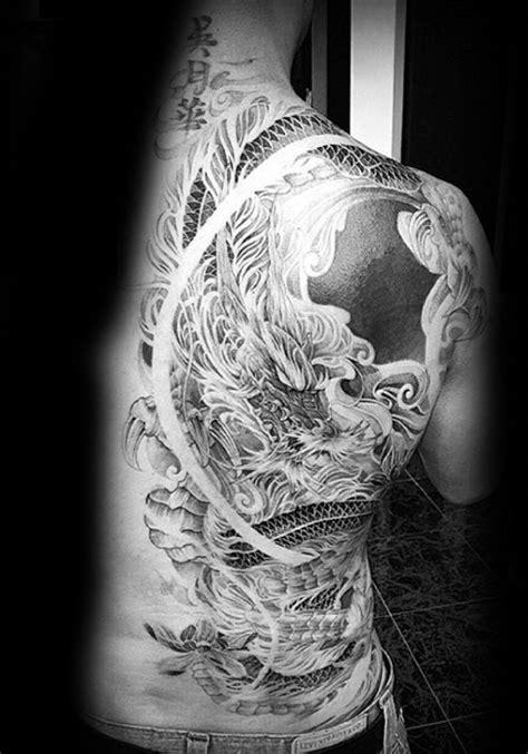 60 Dragon Back Tattoo Designs For Men - Breath Of Power