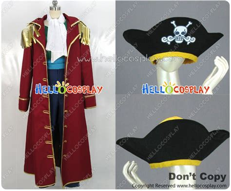 Dress Anak Customade one gol d roger gold costume pirate hat