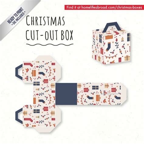 templates for xmas boxes 39 best christmas cut out boxes diy images on pinterest