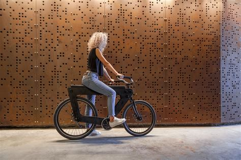 bicycle bench seat revo is a wooden bench seat bike that assembles like