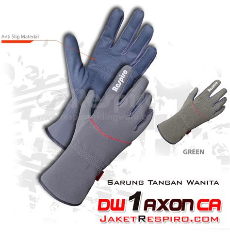 Sarung Tangan Anti Air sarung tangan motor respiro dw 1 axon jaket motor