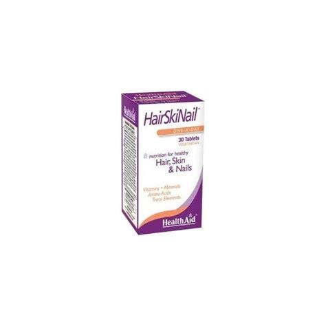 Diskon Wellness Skin Hair Nails Formula 30 Tablets health aid hair skin nail formula 30caps vitamins from pharmeden uk