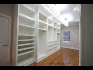 building built in wardrobe cabinets in walk in master