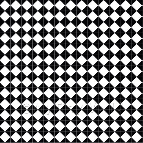 diamond pattern black and white tile floor dolls house miniature floor tile sheets 1 12th classic