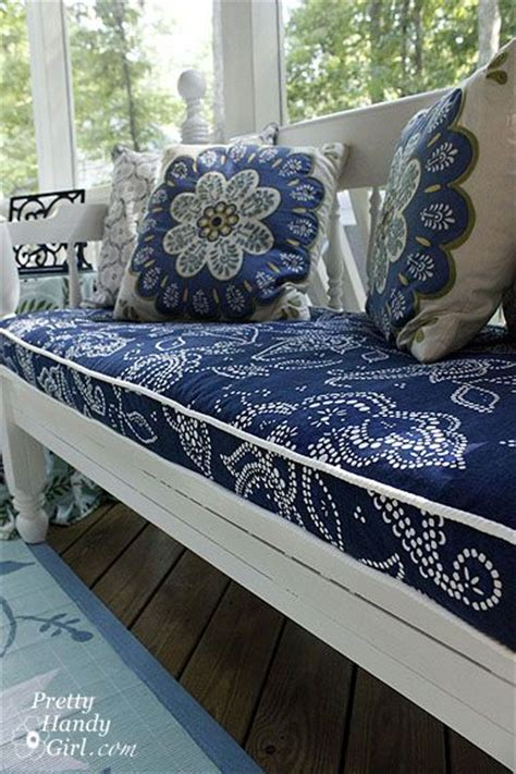 diy couch cushions cushions bench cushions and shower curtains on pinterest