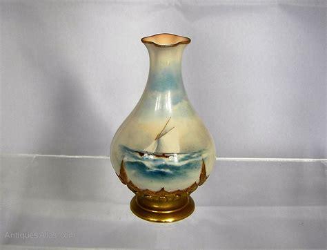 antiques atlas royal worcester vase r rushton 1910