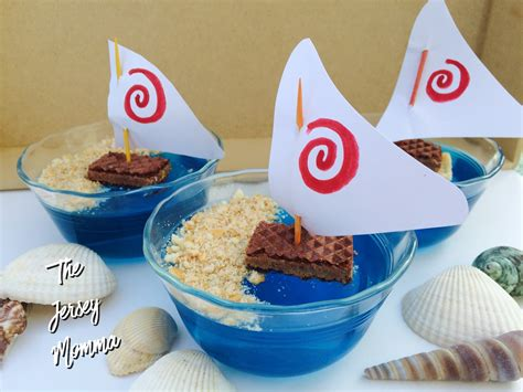 moana boat snack the jersey momma disney s moana recipes jello treats and