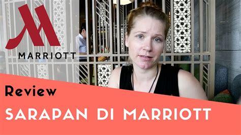 sarapan  hotel marriott jogja review hartono mall
