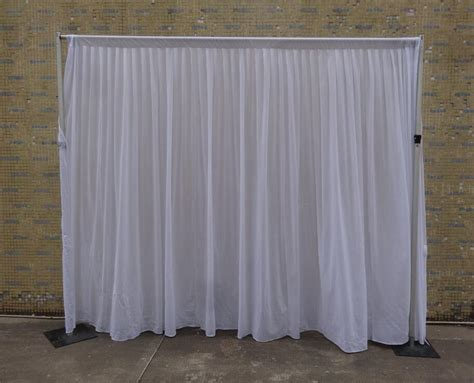 discount pipe and drape wholesale adjustable backdrop pipe and drape for events