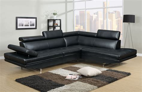 canape angle noir deco in canape d angle design rubic noir can ang
