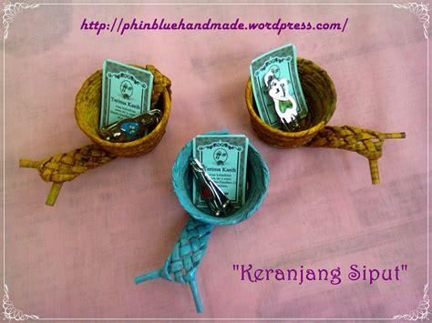 Keranjang File souvenir keranjang siput dari kertas koran craft